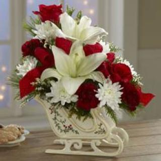 TRADITIONAL SLEIGH BOUQUET
