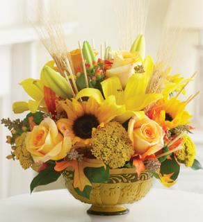 AMBER WAVES FALL ARRANGEMENT