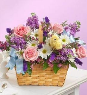 Spring Basket of Color