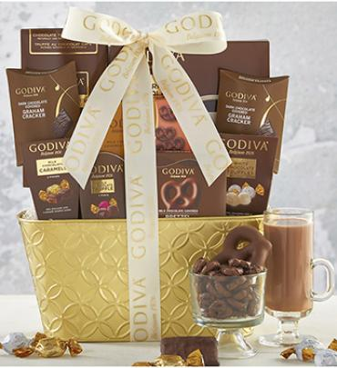 WOW! WAS $68.95 NOW $59.99 GODIVA DECADENCE GIFT BASKET GRANDE