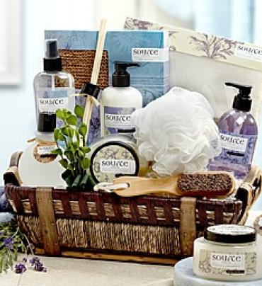 DENARII LAVENDER SPA SENSATION BASKET