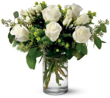 Alpine White Roses