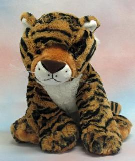Stripes The Sitting Tiger