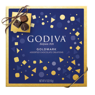 GODIVA ASSORTED CHOCOLATES 4.7oz