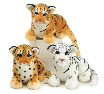 JUNGLE PLUSH TIGERS & LEOPARD