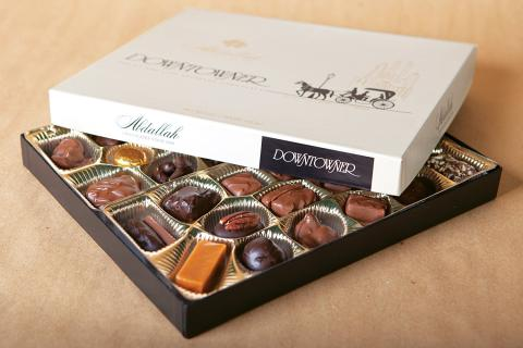 Abdallah Chocolates Downtowner Assortment 15 oz.