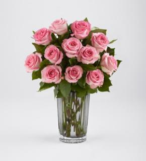 BLUSHING PINK ROSE BOUQUET