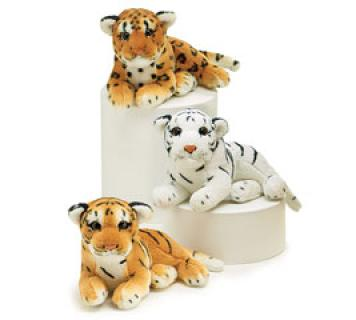 JUNGLE PLUSH TIGERS & LEOPARD SMALL