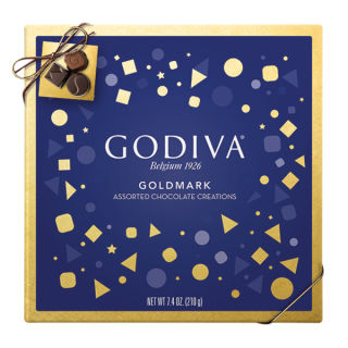 GODIVA ASSORTED CHOCOLATES 7.4oz