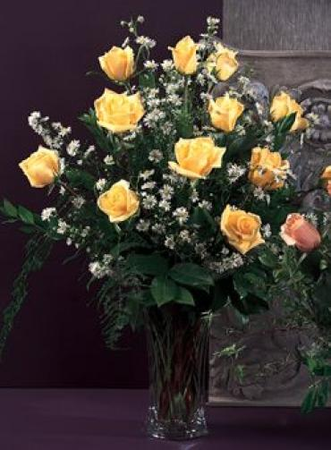 Yellow Roses To Delight