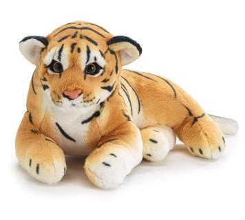 PLUSH LAYING TIGER CUB