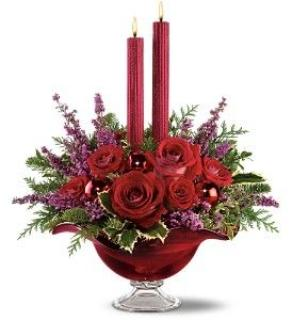 Crimson Bouquet Centerpiece