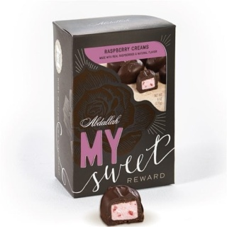 Abdallah SWEET REWARDS Raspberry Creams 6oz