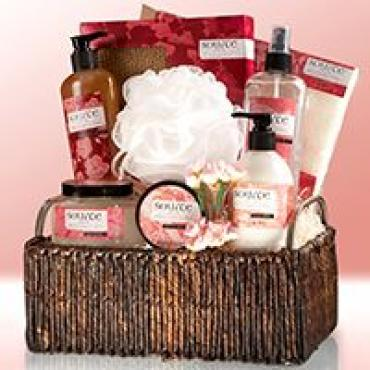 CHERRY BLOSSOM IMPERIAL GIFT BASKET