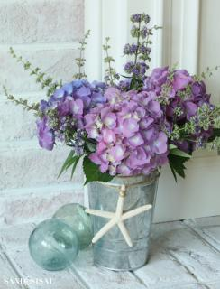HYDRANGEA AND WILDFLOWERS FOR YOU