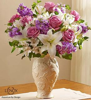 LOVING BLOOMS WITH LAVENDER ROSES