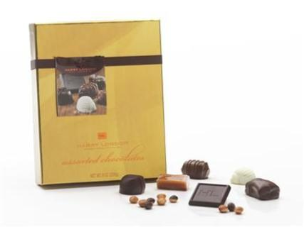 HARRY LONDON 8 OZ ASSORTED GOURMET CHOCOLATES
