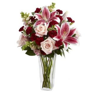 DARK BEAUTY STARGZER LILY BOUQUET