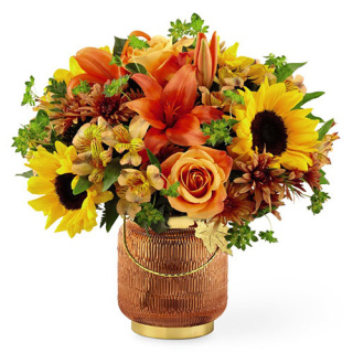 SPECIAL FALL LANTERN BOUQUET