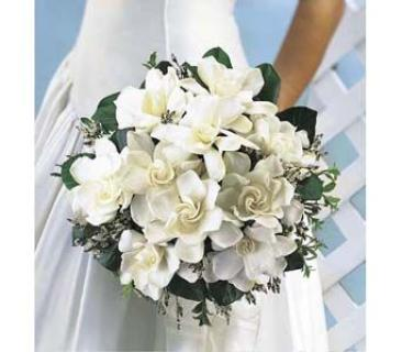 Gardenia Wedding Bouquet