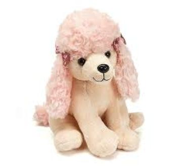 BOWS LIGHT PINK POODLE