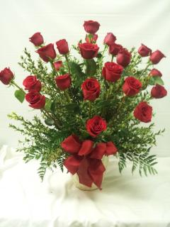 FANCIES 24 DARLING RED ROSES