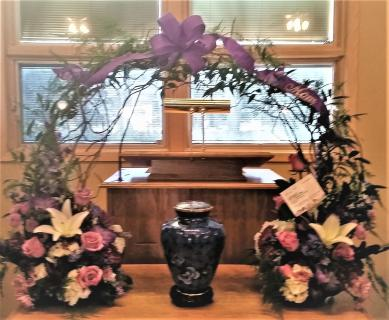 CARING URN ARRANGEMENT