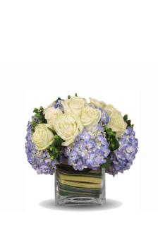 Hydrangea And Roses To Delight