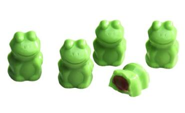 WHIMSICAL MINT FUDGE FILLED FROGS 6 OZ BOX