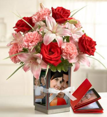 Treasured Photos and Flowers for Your Honey!