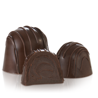 TRUFFLE:  DOUBLE CHOCOLATE DARK .84OZ