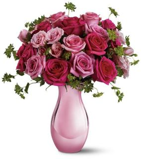 Preety Pink 18 Rose Bouquet