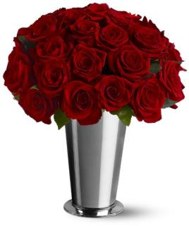 24 Classic Red Roses