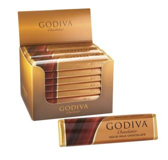Godiva Solid Milk Chocolate Bar 1.5 oz