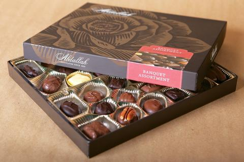 ABDALLAH BANQUET CHOCOLATES 15 OZ