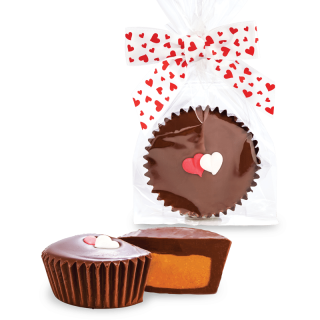 YOU HAVE MY HEART PEANUT BUTTER CUP JUMBO X-LARGE