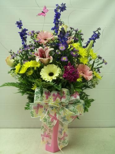 COLORFUL & BRIGHT FLOWERS AT FANCIES FLOWERS