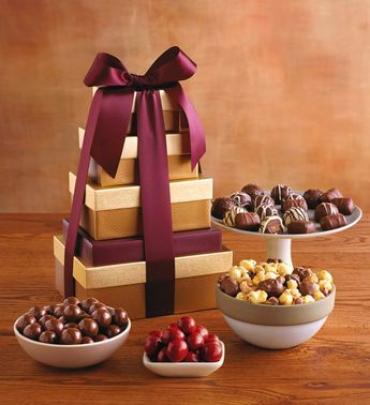 CLASSIC TOWER OF CHOCOLATES