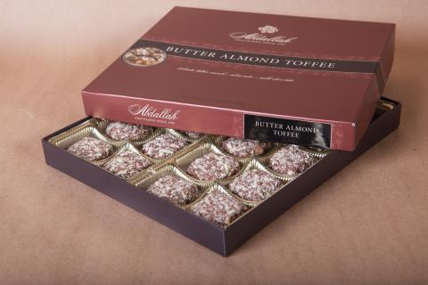 Abdallah Butter Almond Toffee 13 oz