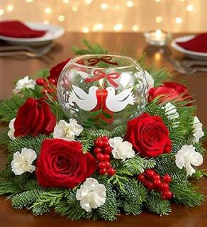Dove Bowl Centerpiece WOW! $10 OFF