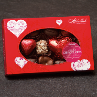 ABDALLAH 8 OZ HEART GIFT PACK CHOCOLATES