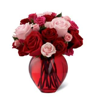 SWEET AND SPECIAL HEART VASE