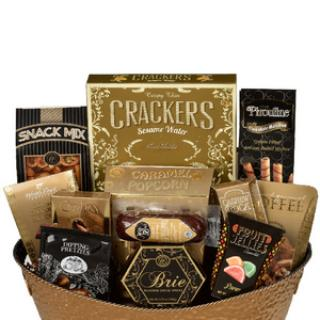 ROYAL TREAT GOURMET FOOD & CANDY GIFT BASKET