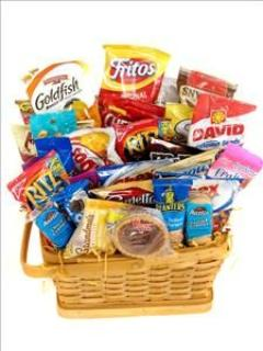 FANCIES SNACK BASKET